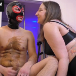 Scat Humiliation At Its Finest Girl Shits On His Chest And Tells Him What To Do On Live Cam