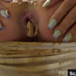 Amazing Scat Couple Gets Together For Some Kinky Shit Smearing And Scat Sex Live