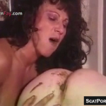 Horny Scat Girls Eating Shit Directly From Guys Asses On Cam