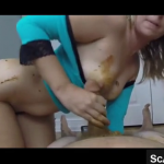 Really Hot Nerdy Scat Girlfriend Shits Out Of Her Amazing Ass For Her Boyfriend On Live Scat Webcam