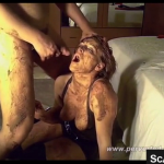 Scat Couple Enjoys Pissing Shitting And Smearing On Live Cam Together