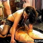 Vintage Scat Porn At Its Finest Caught On Cam Showing Shit Eating And Pissing