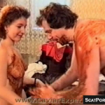 Vintage Scat Scene Shows Couple Fucking And Smearing Shit