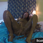 Epic Scat Goddess Is Covered In Shit Completely And Pisses For Us While Smearing On Webcam
